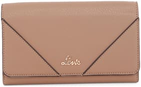 LAVIE Women Beige PU Wallet