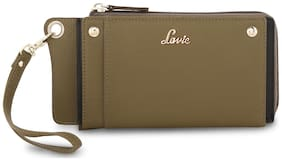 LAVIE Women Leather Wallet - Green
