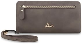 LAVIE Women Leather Wallet - Grey