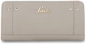 LAVIE Women Grey Leather Wallet