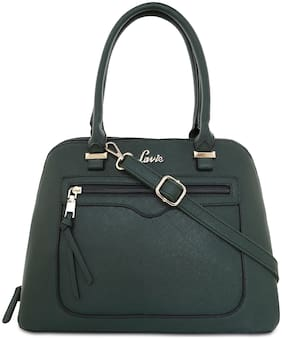 LAVIE Green PU Satchel