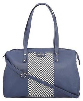 LAVIE Blue Faux Leather Handheld Bag