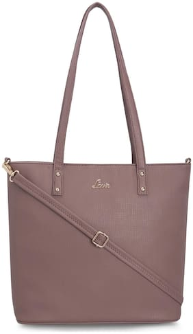 LAVIE Pink PU Handheld Bag