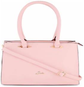 LAVIE Faux leather Women Handheld bag - Pink