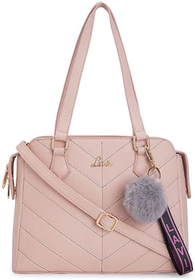 LAVIE Pink PU Satchel
