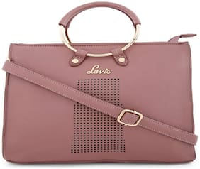LAVIE Faux leather Women Handheld bag - Pink