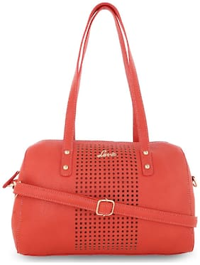 LAVIE Leather Women Handheld bag - Pink