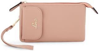 Lavie Pink Women Small Wallets