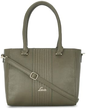 LAVIE Green PU Shoulder Bag