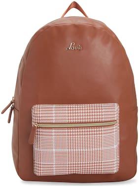 LAVIE Brown PU Backpack