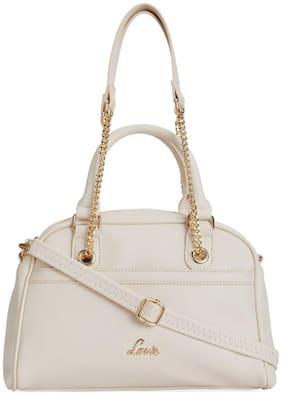 LAVIE Pu Women Handheld bag - White