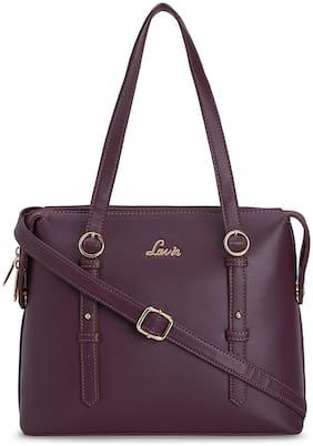LAVIE Purple PU Satchel