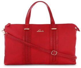 LAVIE Women Synthetic Handheld Bag - Red
