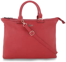 Lavie Red Women Satchel