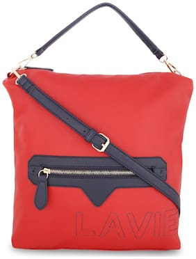 LAVIE Faux leather Women Handheld bag - Red