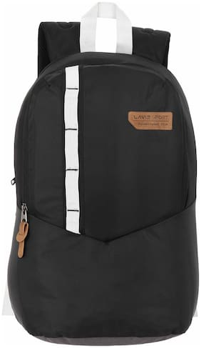 LAVIE SPORT Black Polyester Backpack