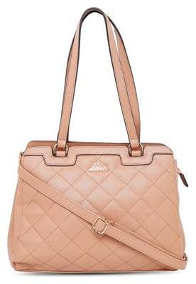 LAVIE Tan Faux Leather Handheld Bag