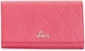 LAVIE Women Pink PU Wallet