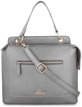LAVIE Silver PU Handheld Bag