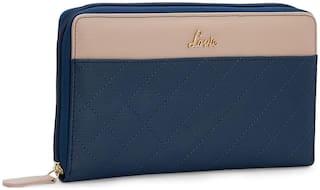 LAVIE Women Blue Synthetic Wallet