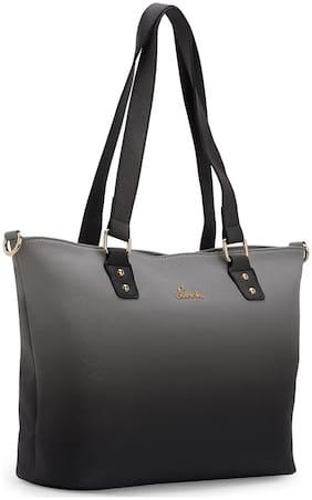 LAVIE Synthetic Women Shoulder bag - Grey
