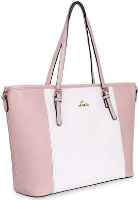 LAVIE Synthetic Women Shoulder Bag - Pink