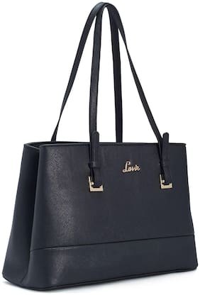 LAVIE Black Synthetic Satchel