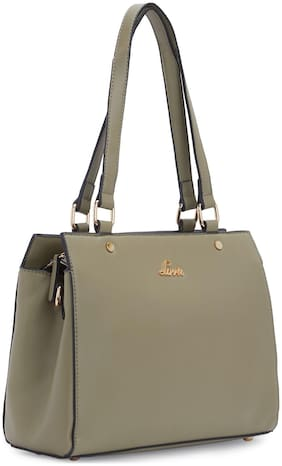 LAVIE Green Synthetic Satchel