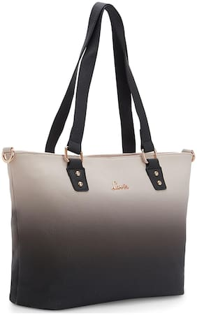LAVIE Beige Synthetic Shoulder Bag