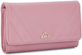 LAVIE Women Pink Synthetic Wallet