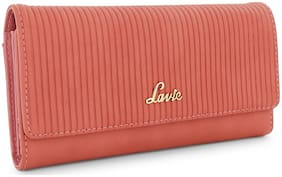 LAVIE Women Pink Synthetic Wallet