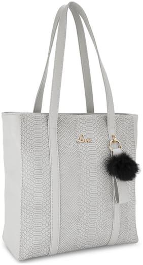 LAVIE Beige Synthetic Shoulder Bag