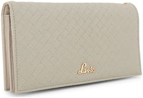 LAVIE Women Grey Synthetic Wallet