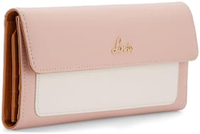 LAVIE Women Beige Synthetic Wallet