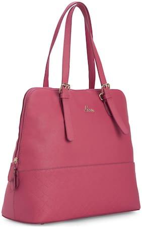 LAVIE Pink Synthetic Satchel