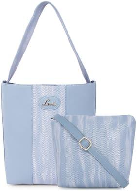 LAVIE Blue Synthetic Shoulder Bag