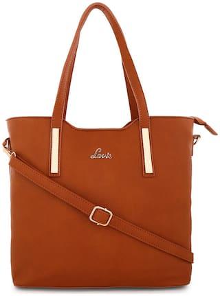 LAVIE Pu Women Handheld bag - Tan