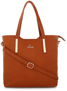 LAVIE Women Zipper Tan