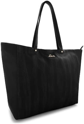 LAVIE Black Synthetic Shoulder Bag