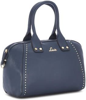 LAVIE Blue Synthetic Handheld Bag