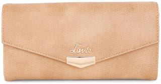 LAVIE Women Pu Wallet - Beige