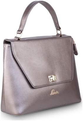 LAVIE Grey Synthetic Satchel