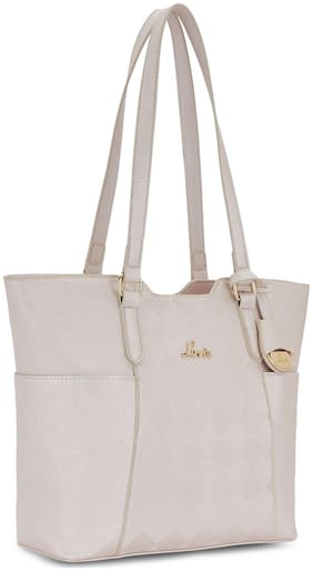LAVIE Synthetic Women Shoulder bag - White