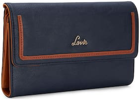 LAVIE Women Blue Synthetic Wallet