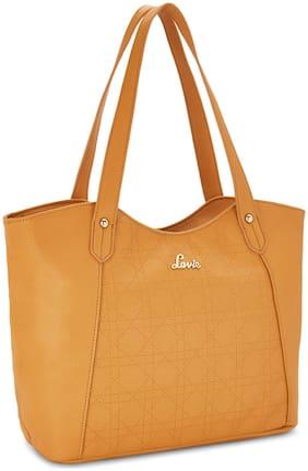 LAVIE Synthetic Women Shoulder bag - Yellow