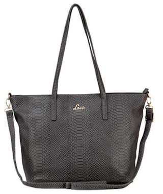 LAVIE Faux leather Women Handheld bag - Grey