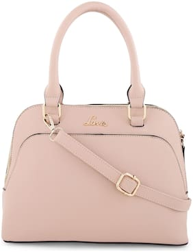 LAVIE Yellow PU Satchel