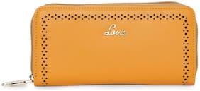 LAVIE Women Yellow PU Wallet