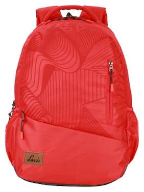 LAVIE Red Polyester Backpack