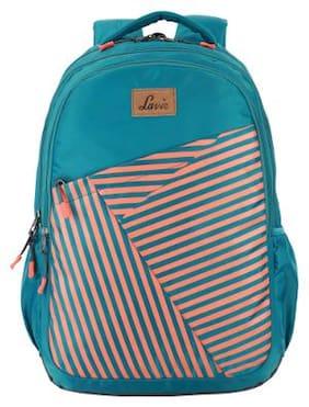 LAVIE Grey Polyester Backpack